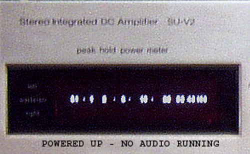 TECHNICS SU-V2 Amplifier (Peak Power Flourescent Display Assembly)  SPARE PART