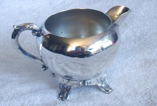 F.B ROGERS (AMERICAN) Silver Plate Creamer Jug (NO Lid)