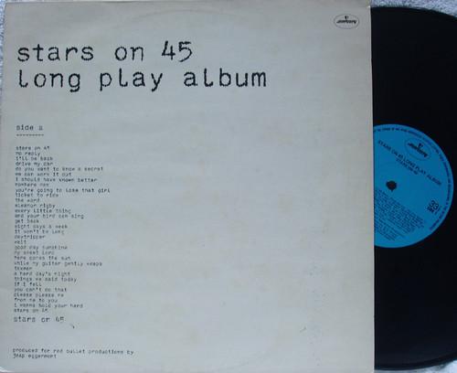 Disco Rock N Roll  - STARS ON 45  (Long Play Album) Vinyl 1981