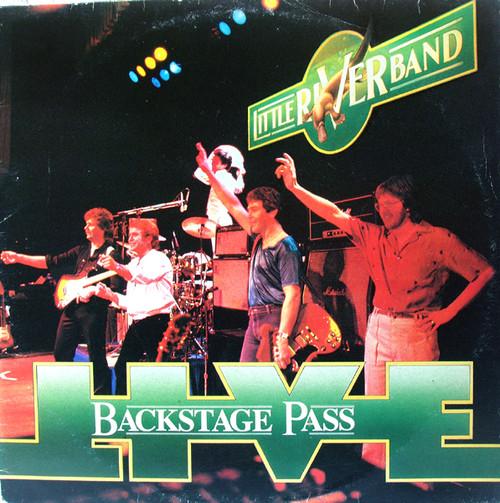 Symphonic Pop Rock - LITTLE RIVER BAND Backstage Pass Vinyl 1979
