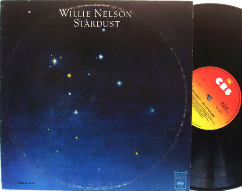 Country Blues - WILLIE NELSON Stardust Vinyl 1978