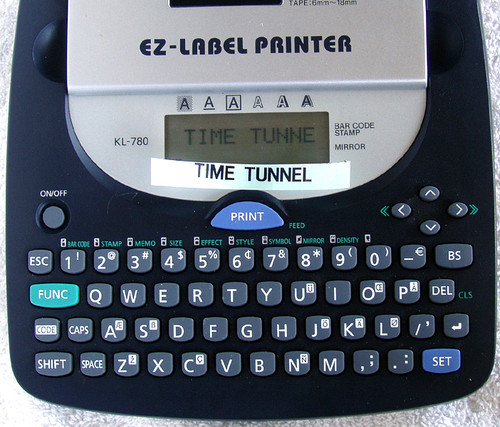 CASIO Thermal EZ Label Printer Model:  KL-780 USED WORKING GREAT