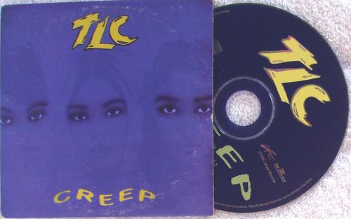 RnB Swing - TLC Creep CD Single (CARD SLEEVE) 1994