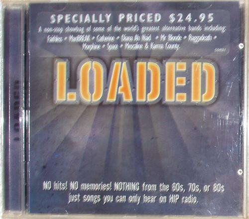 Alternative Rock - LOADED  (Festival Records Compilation) CD 1997