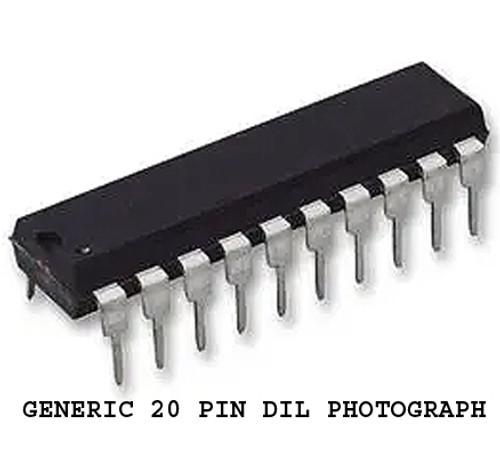 74HC Series NATIONAL SEMICONDUCTOR 74HC356N (Dual 4-Bit Addressable Latch) NOS