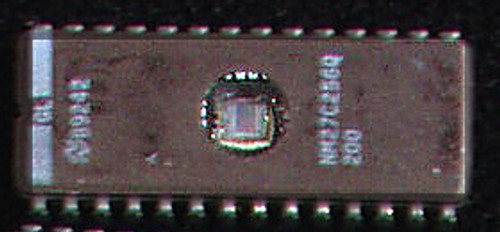 EPROM NATIONAL SEMICONDUCTOR NM27C256Q 200nS (CMOS 256K 32K x 8 ) USED