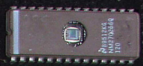 EPROM NATIONAL SEMICONDUCTOR NM27C256Q 120nS (CMOS 256K 32K x 8) Used