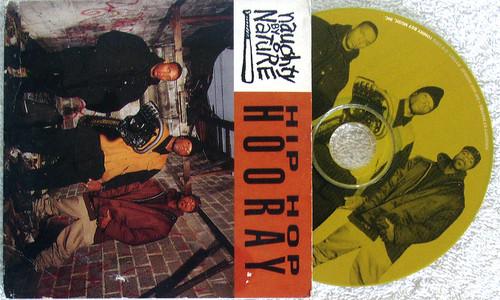 Hip Hop - NAUGHTY BY NATURE Hip Hop Hooray CD Maxi Single (Card Sleeve) 1993