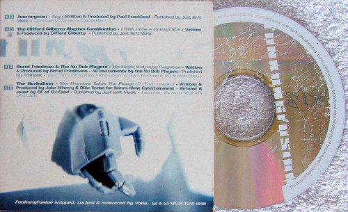Abstract Future Jazz - NINJA CUTS Funkungfusion CD #2 ONLY (Card Sleeve) 1998