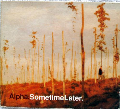 Trip Hop - ALPHA Sometime Later CD Single (Card Wallet) 1997