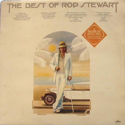 Blues Rock - ROD STEWART The Best Of Rod Stewart 2x Vinyl 1977