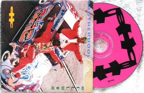 Hip House - BROTHERHOOD CREED Helluva CD Single (Card Sleeve) 1992