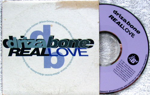 RnB Swing - DRIZA-BONE Real Love CD Single (Card Sleeve) 1991