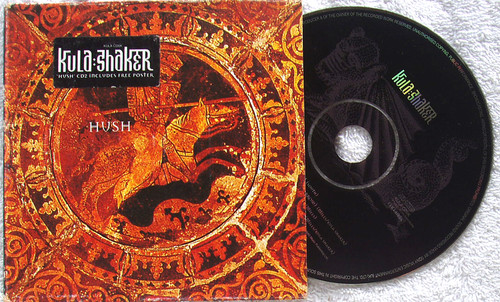 Psychedelic Rock - KULA SHAKER Hush CD 2 Maxi Single (Card Sleeve) 1997