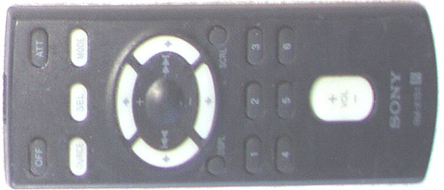 Remote Control - SONY In Car Audio System  Model: RM-X151 (WORKING)