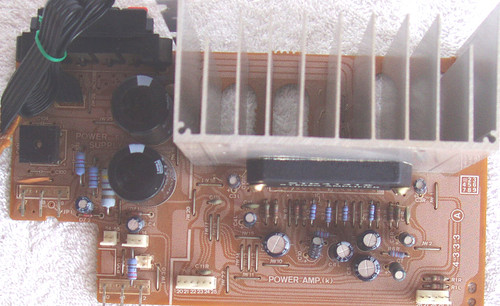 SANSUI DA-T500 Stereo System Power Amplifier Module (Tested Working)