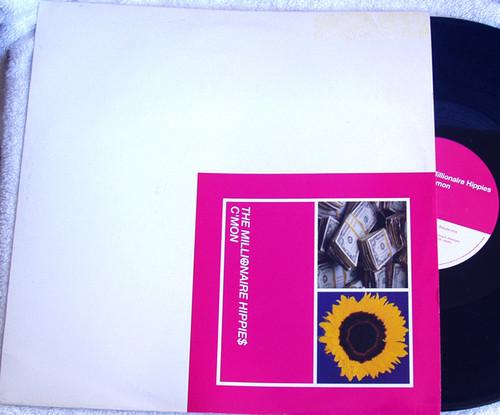 "Progressive House - The Millionaire Hippies C'mon 12"" Vinyl 1994"