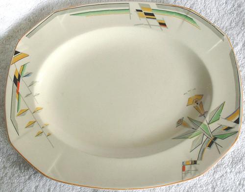 Art Deco Alfred Meakin Porcelain Serving Dish - Marigold 1930's