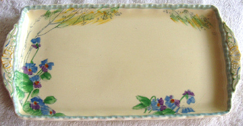 Grindley Potteries 1936 - 1954 Hand painted serving dish