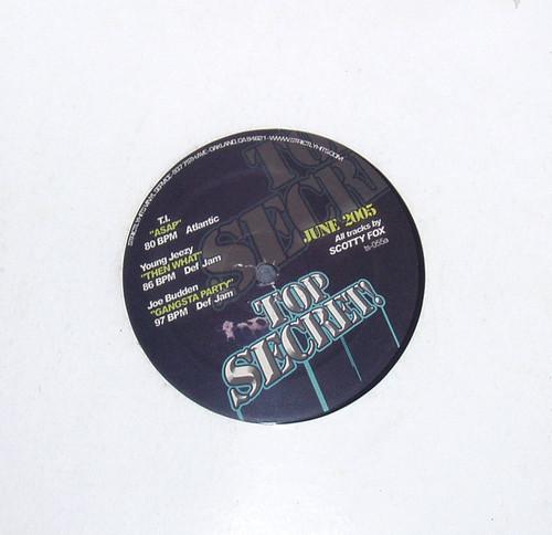 "Hip Hop Thug Rap - TOP SECRET (Compilation) 12"" Vinyl 2005"