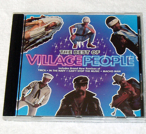 Pop Disco - VILLAGE PEOPLE The Best Of... (Compilation) CD 1993