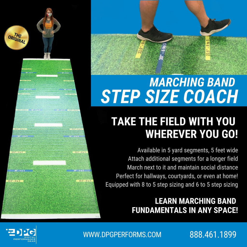 Marching Band Step Size Coach