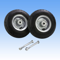 "8"" Solid Rubber Tires w/Bolts (for 6' command center 2 only)"