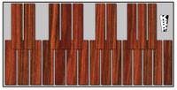 Mini Marimba Practice Pad - Two Octave