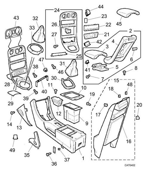 Screw-fascia - MGF VIN AD020326 on. MG TF -U
