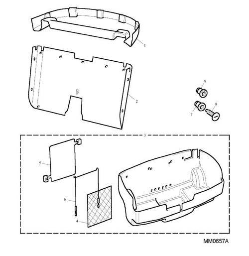 Stud - loadspace carpet - small -U