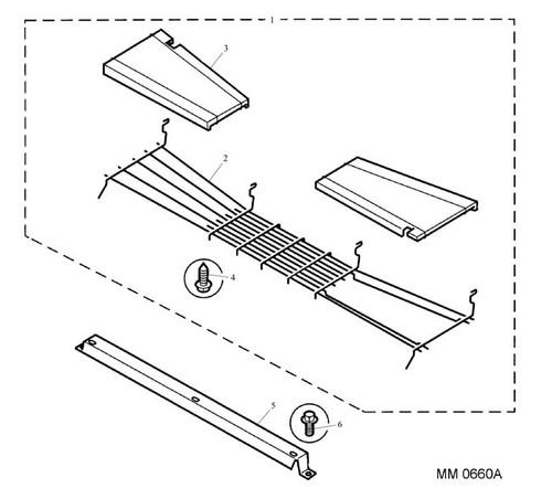 Screw - Flanged Head - M6 x 12 - bracket securing -U