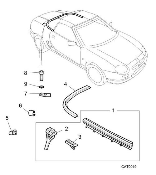 Seal - finisher bolt