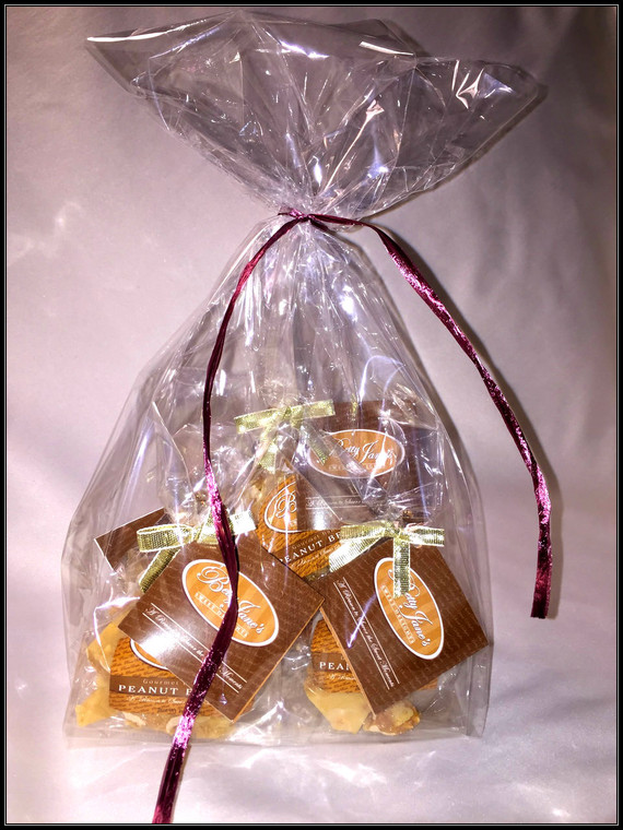 Party Favors (5 - 1oz Bags of Peanut Brittle)