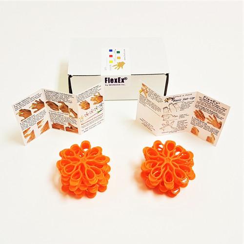 20-Box FlexEx® Orange (Medium/Soft) Resistance