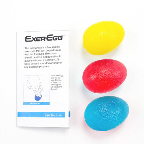 ExerEgg Hand Exerciser and Grip Strength Trainer