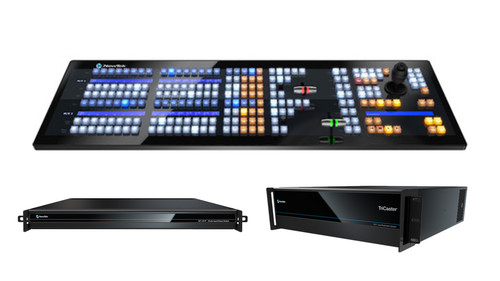 TriCaster TC1 MAX Bundle (TriCaster TC1 R3, NC1 I/O, and 2-Stripe Control Panel)