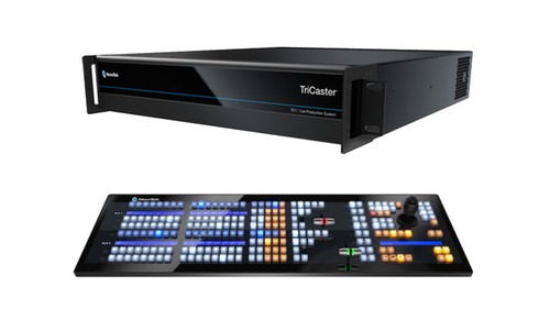 TriCaster TC1 SELECT Bundle (TC1 2RU and 2 Stripe control panel)