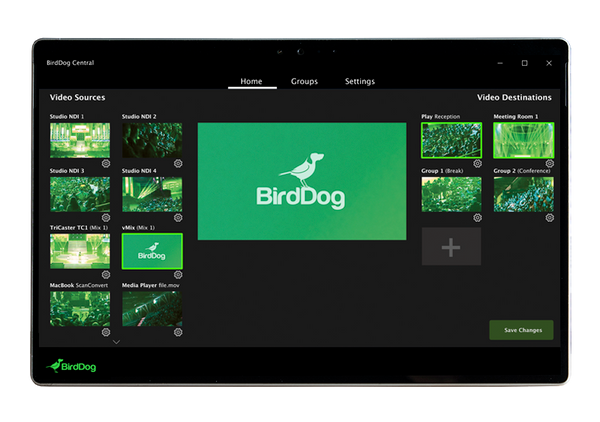 BirdDog Central - DOWNLOAD ONLY