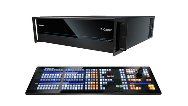 TriCaster TC1 SELECT PLUS Bundle (TC1 3RU and 2 Stripe control panel)