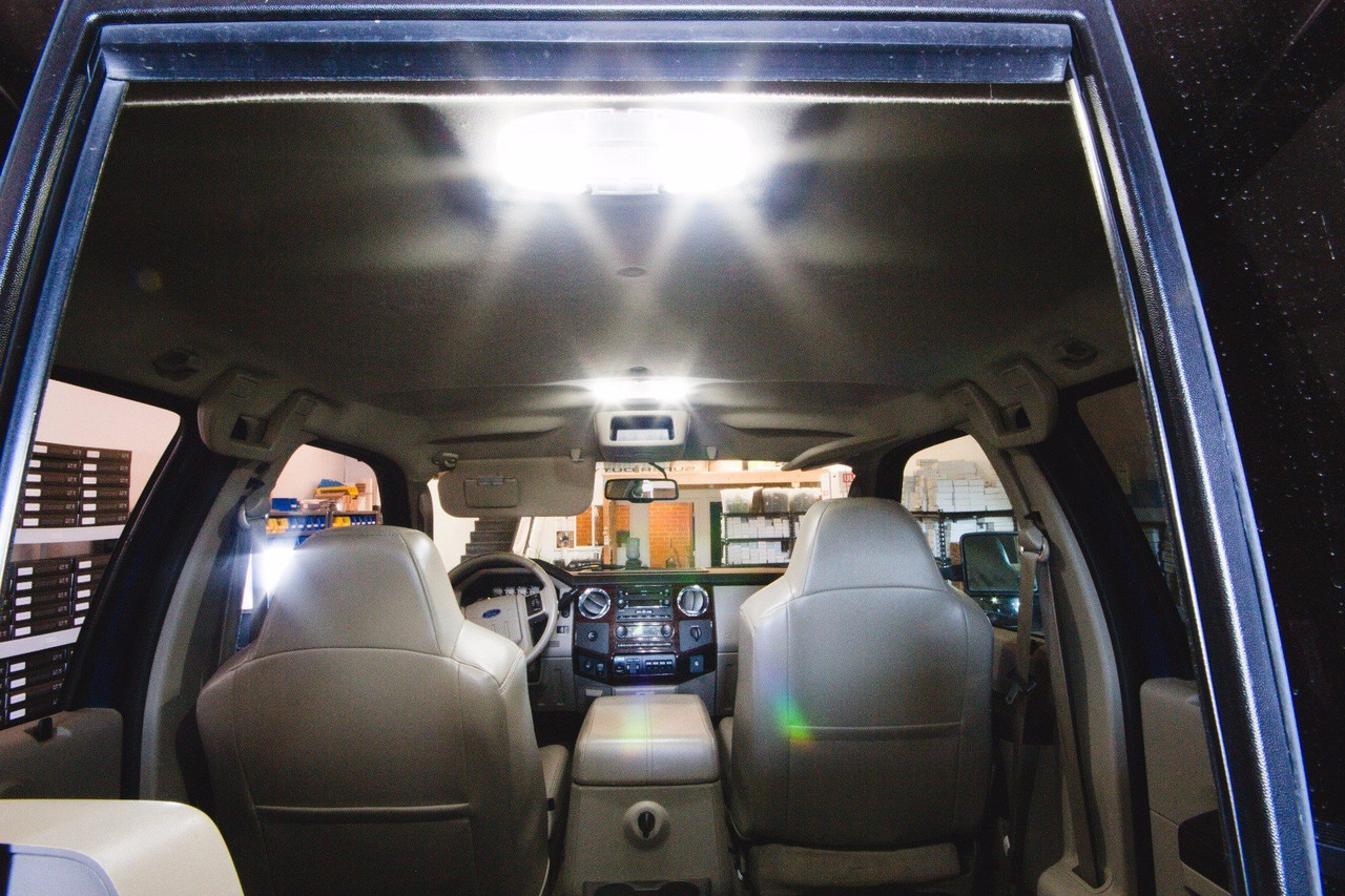 Ford F-250/350 Premium LED Interior Package (2008-Present)