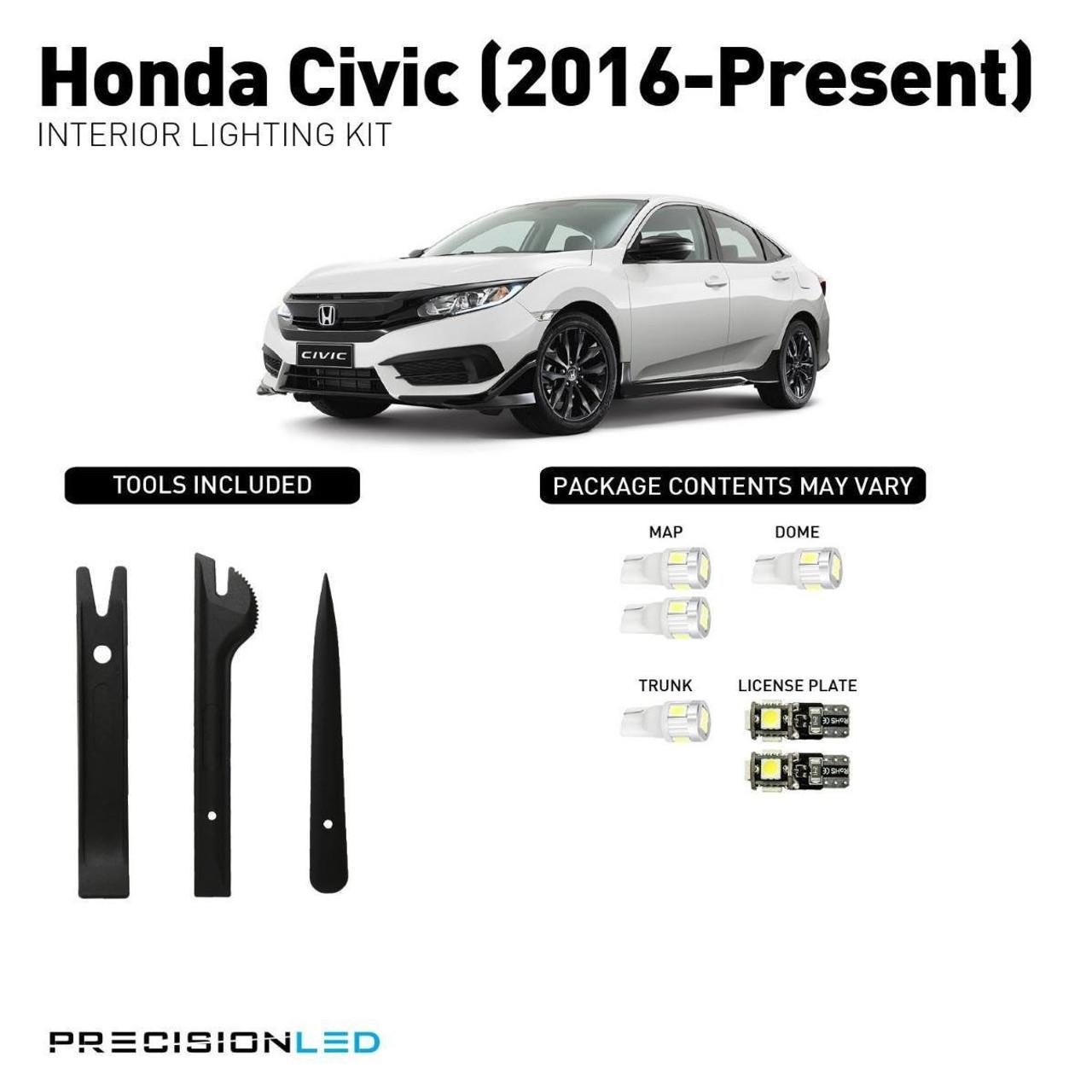 Honda Civic Premium LED Interior Package (2016-Present)