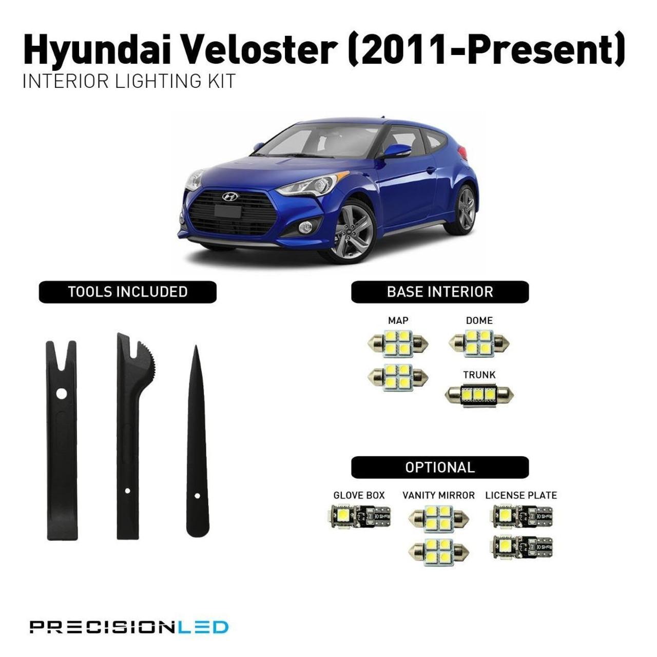 Hyundai Veloster LED Interior Package (2011-Present)