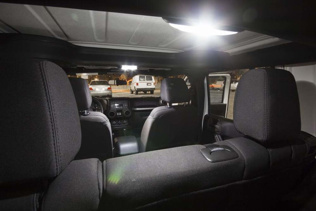 Jeep Wrangler JK 4-Door Premium LED Interior Package (2007-Present)