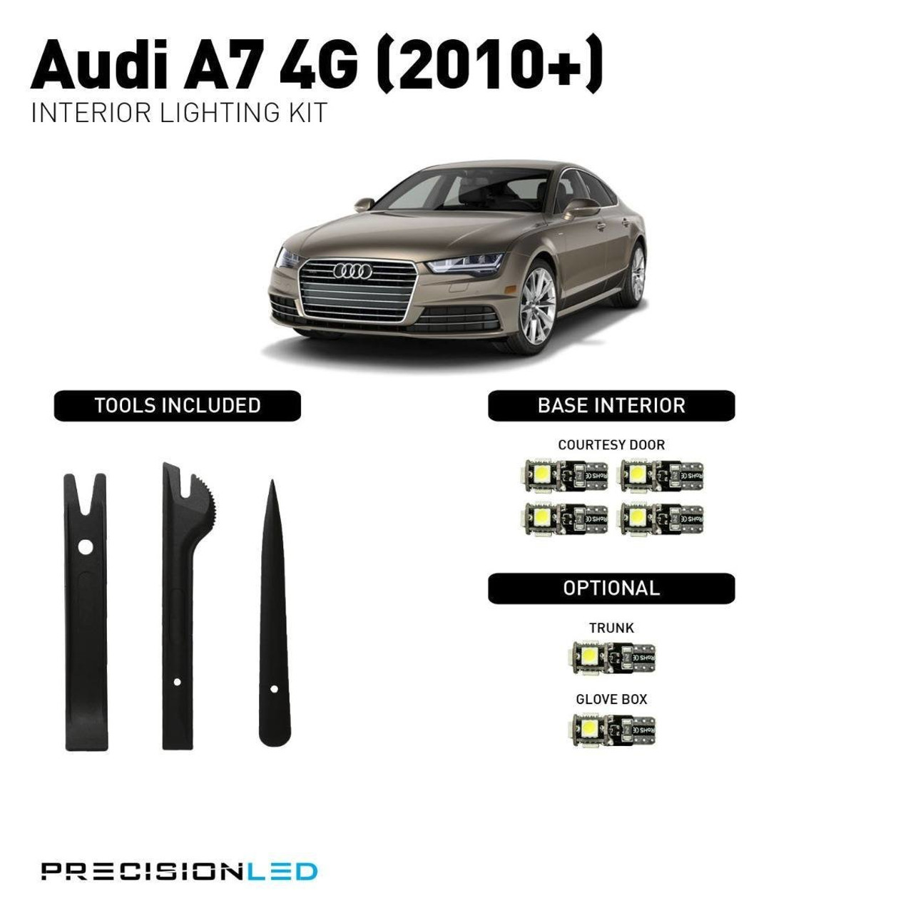 Audi A7 4G LED Interior Package (2010+)