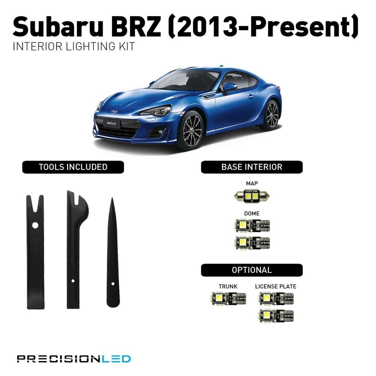Subaru BRZ LED Interior Package (2013-Present)