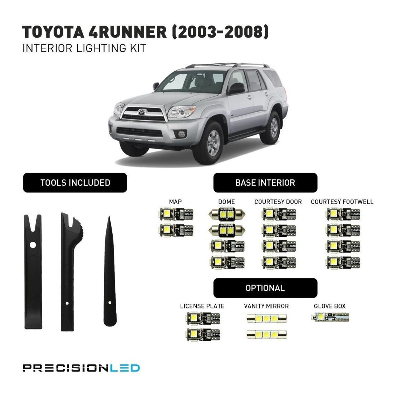 Toyota 4Runner LED Interior Package (2003-2008)