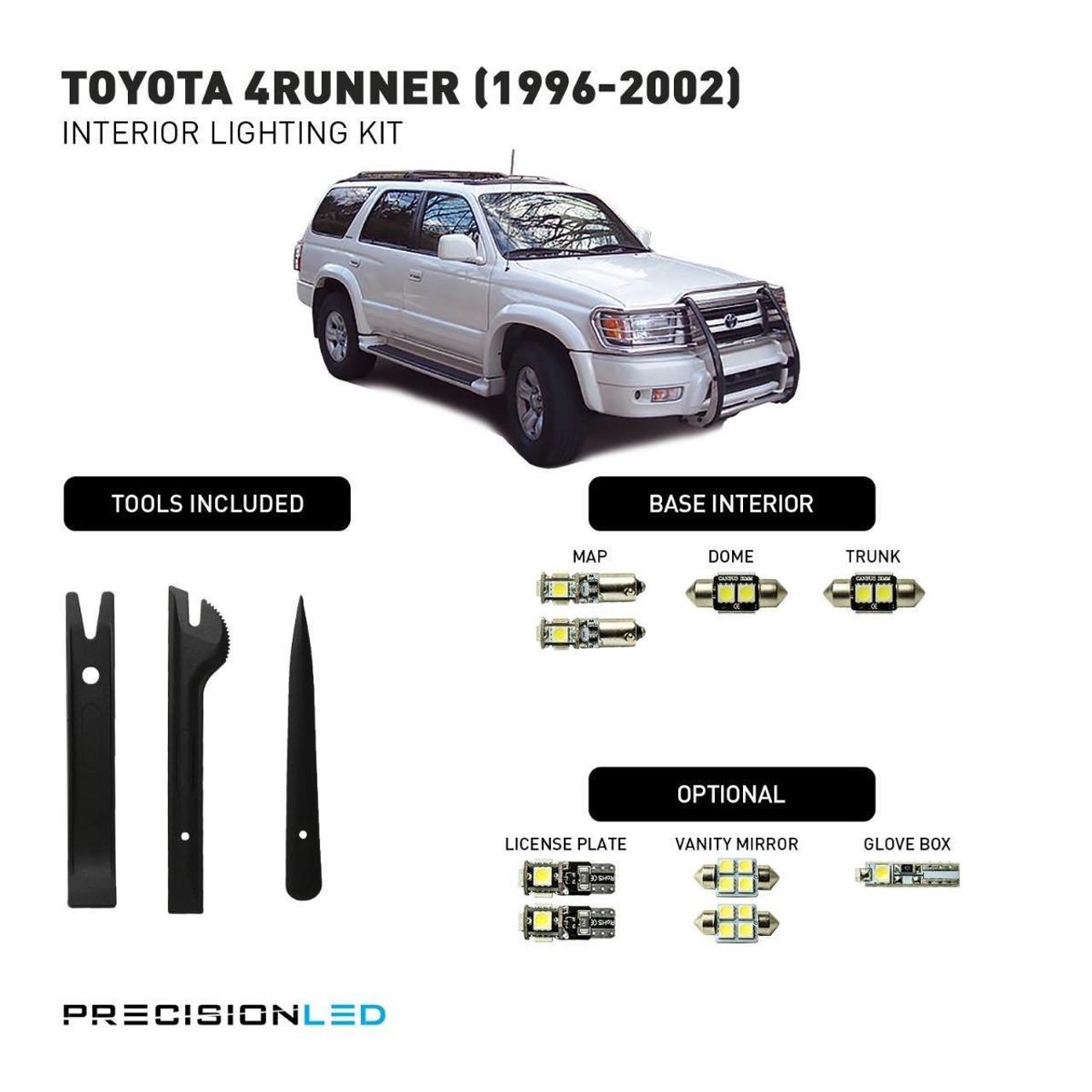 Toyota 4Runner LED Interior Package (1996-2002)
