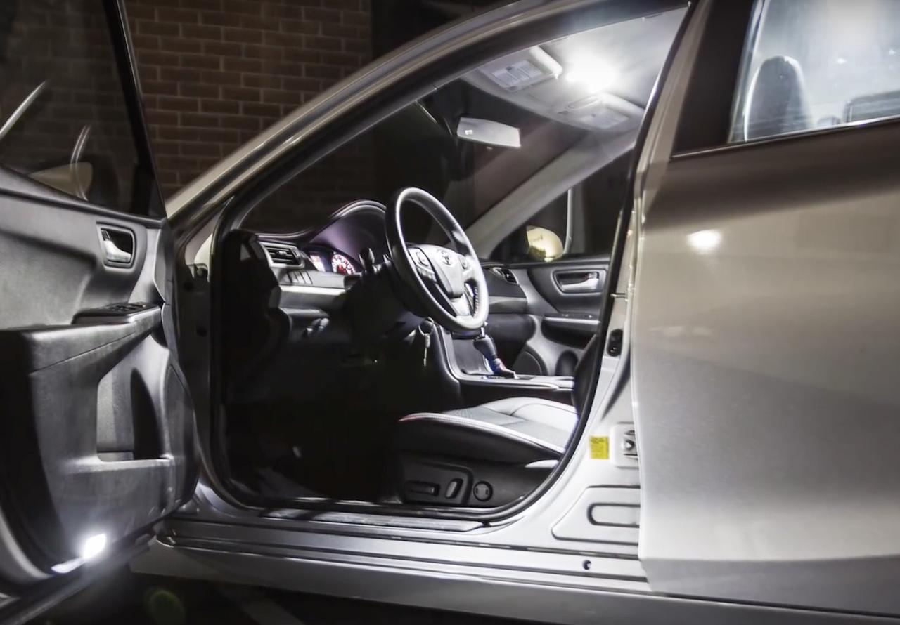 Toyota Camry Premium LED Interior Package (2012-Present)