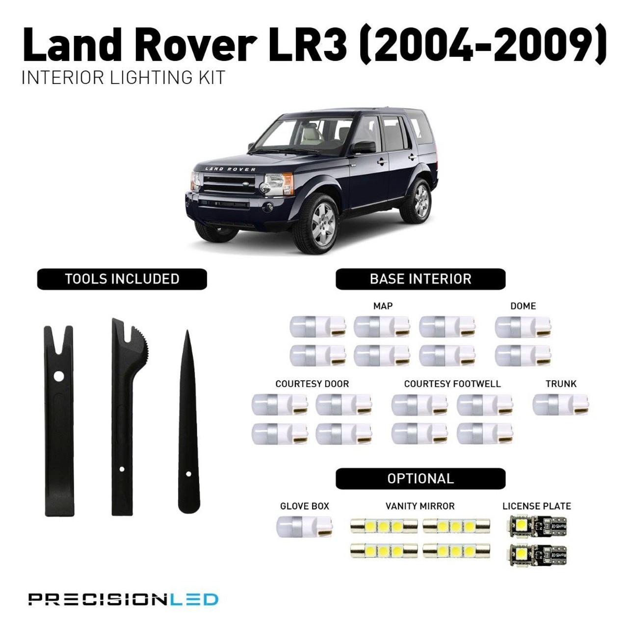 Land Rover LR3 Premium LED Interior Package (2004-2009)