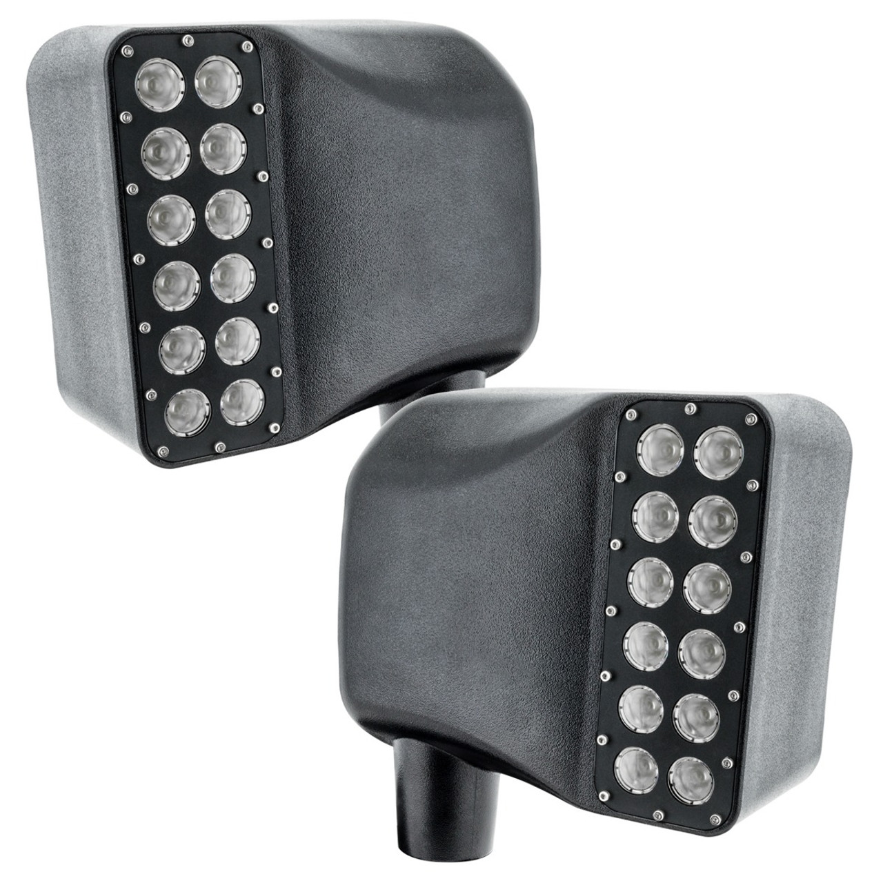 Jeep Wrangler JK OFF-ROAD LED Side Mirrors